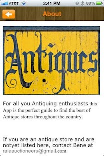 Antiques - screenshot thumbnail