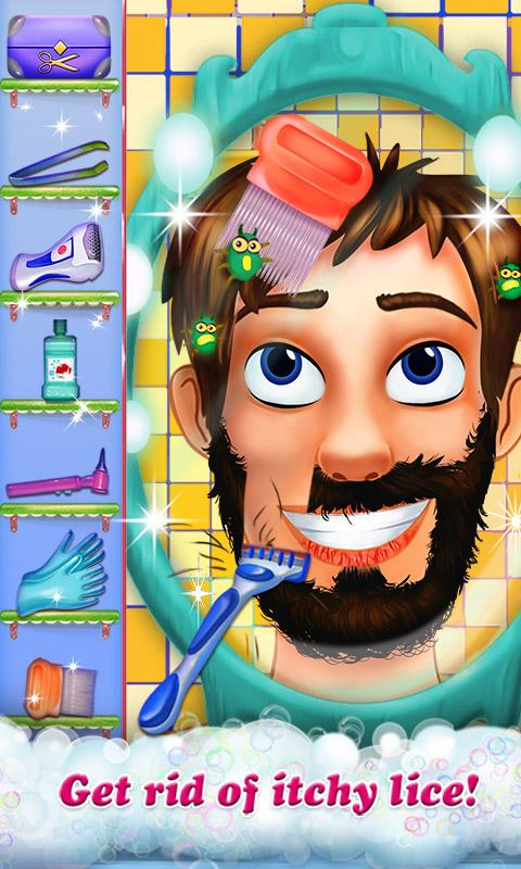 Hairy Face Salon - Makeover - screenshot