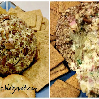 HAM & PINEAPPLE CHEESE BALL