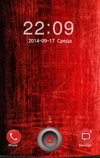 Only Red Go Locker Theme