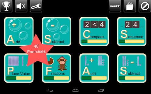 First Grade Math Lite - screenshot thumbnail