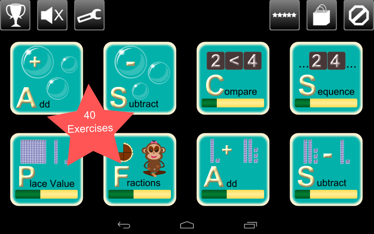 First Grade Math Lite - screenshot