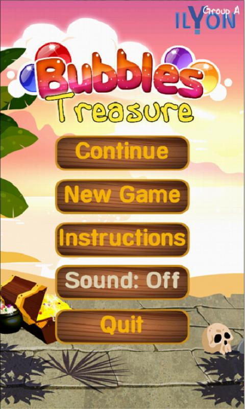 Bubbles Treasure- screenshot
