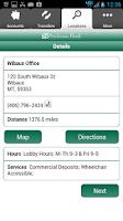 Screenshot of Stockman Bank eMobile - Phone