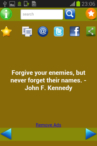 Quotes of Kennedy