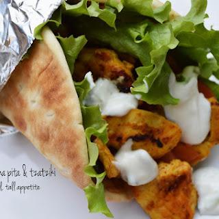 Chicken Shawarma Pita & Tzatziki