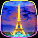Night in Paris Live Wallpaper icon