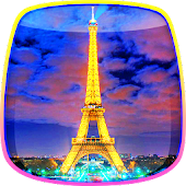 Night in Paris Live Wallpaper