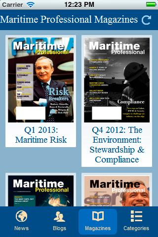 Maritime Professional - screenshot