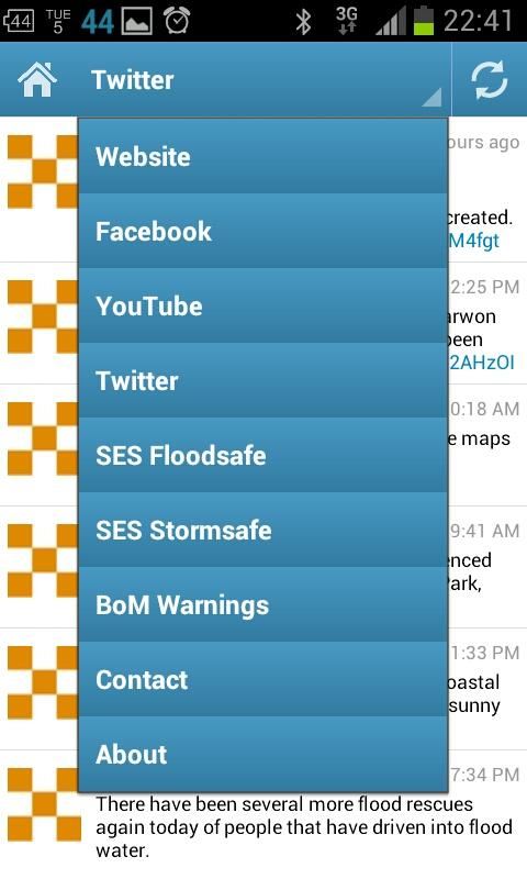 NSW SES- screenshot