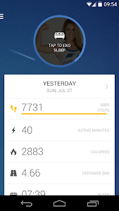 Runtastic Me: Daily Tracker v1.3.6