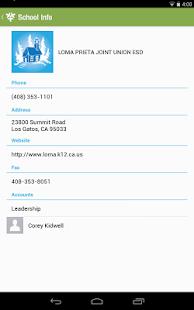 Loma Prieta Joint Union ESD- screenshot thumbnail