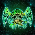 Spooky Skull theme 480×800 logo