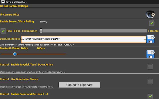 BT Bot Control - screenshot