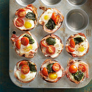 Breakfast Ham and Egg Cups.