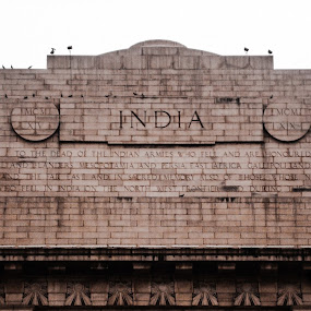 The India Gate by Akshit Arora - Buildings & Architecture Public & Historical ( history, india, patriotism, nationalism, historic )