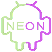 Neon green and purple Go Theme