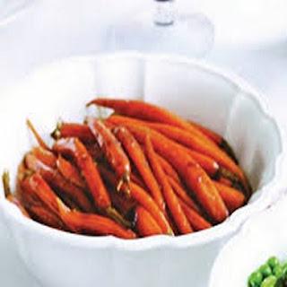 Balsamic Glazed Carrots.