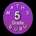 Fifth Grade Kids Math Guru icon