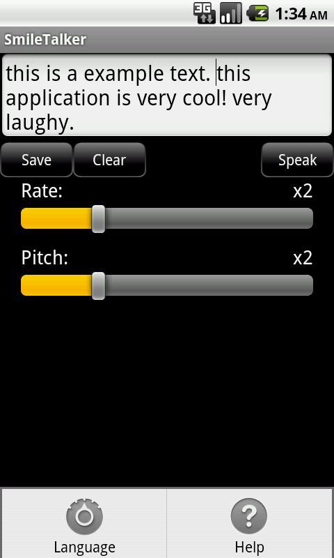 SmileTalker- screenshot