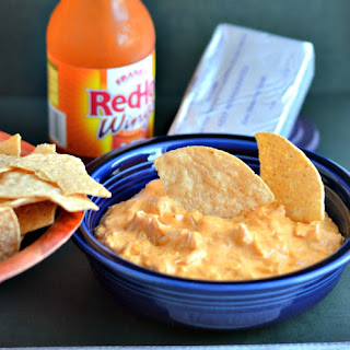 Buffalo Chicken Dip #CrockPot Challenge Day 2