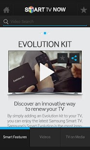 Samsung Smart TV Now - screenshot thumbnail