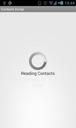 Contacts Dump