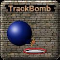 TrackBomb logo