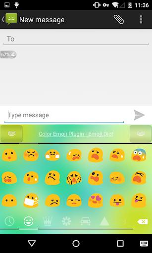 Emoji Keyboard - Spring Day