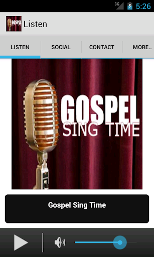 Gospel SIng Time