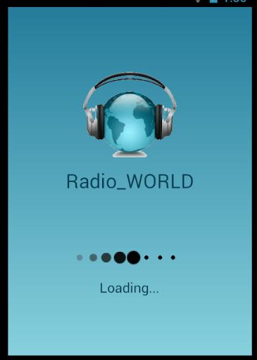 ラジオに耳を傾け