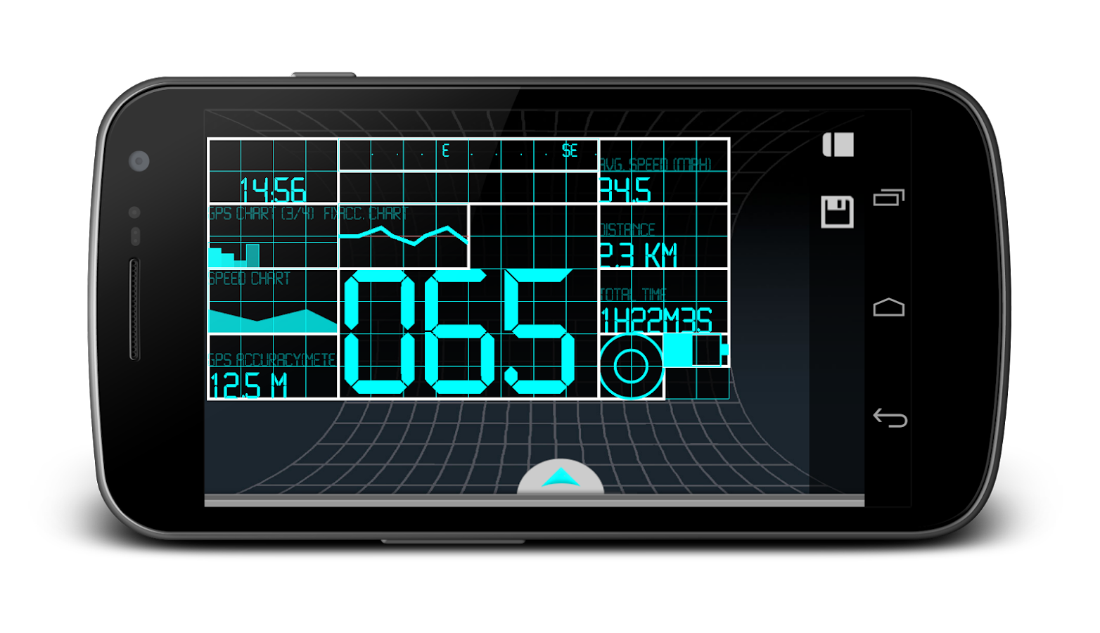 Navier HUD Navigation Premium - screenshot