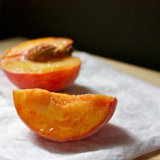 Grilled Georgia Peach Sundae
