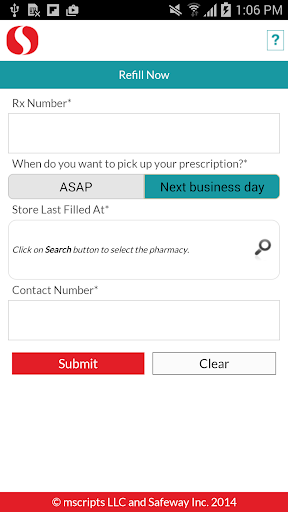 Safeway Pharmacy for PC
