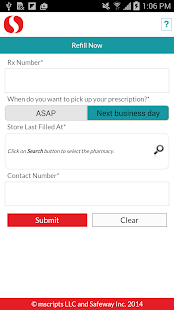 Safeway Pharmacy- screenshot thumbnail