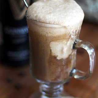 Guinness Float with Dairy-Free Coffee Ice Cream