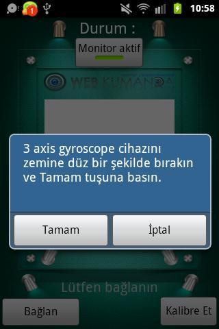 Cepte Vücut Takip - screenshot