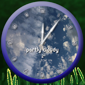 Round Weather Clock UCCW Skin