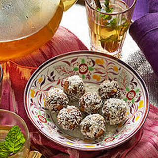 Spiced Date-Walnut Balls.