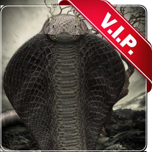 コブラ lwp 〜 ヘビのコブラ ライブ壁紙の女王を満たす 個人化 App LOGO-硬是要APP