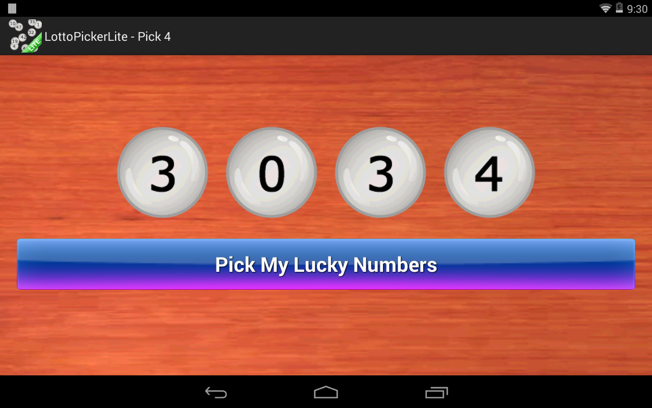 lucky lotto number picker