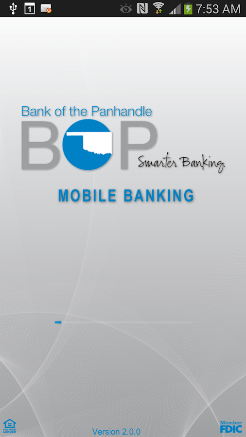 myBOP Mobile Banking - screenshot