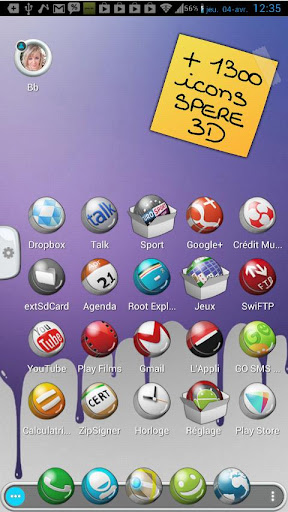 TSF Shell Theme C3D HD