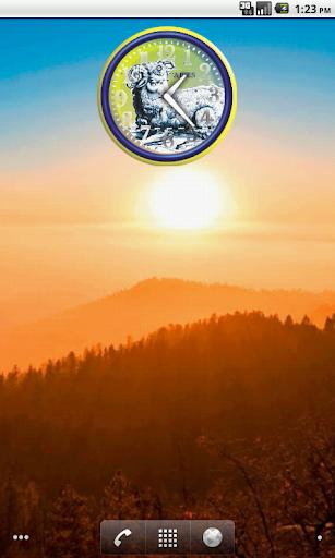 Ariete Zodiac Analog Clock