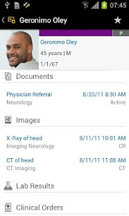 SAP Electronic Medical Record - screenshot thumbnail