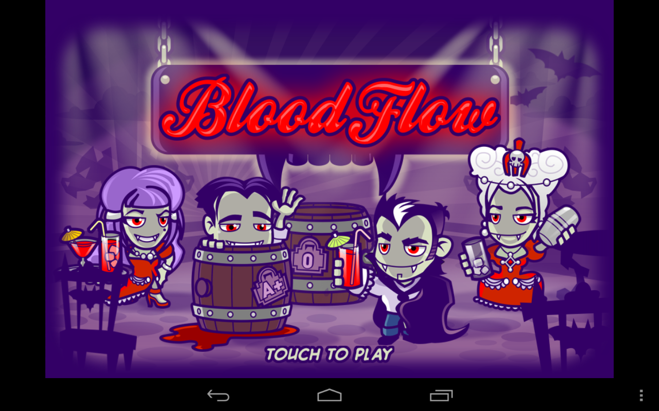 Blood Flow - Vampire Halloween - screenshot