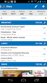 Calorie Counter - MyFitnessPal Screenshot 2