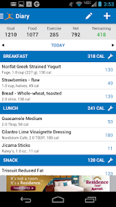 Calorie Counter - MyFitnessPal v4.2