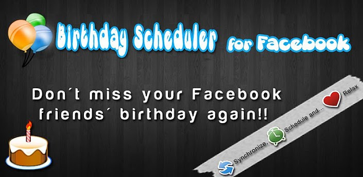 BY USING BIRTHDAY SCHEDULER APP FOR FACE BOOK LITE YOU CAN SEND MESSAGES AUTOMATICALLY
