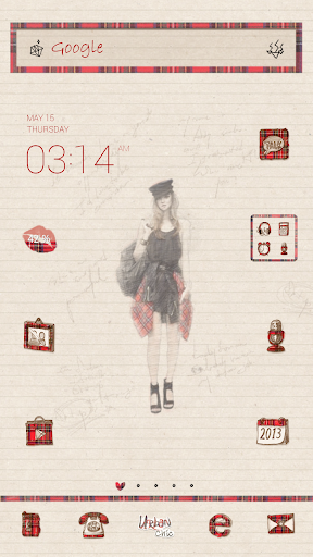 UrbanChic dodol launcher theme